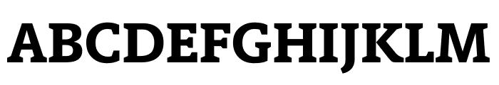 Berlingske Slab Extra Bold Font UPPERCASE