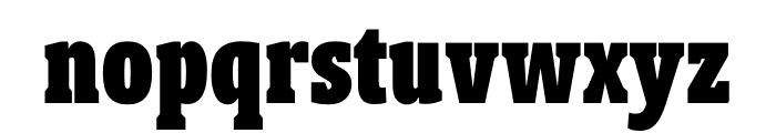 Berlingske Slab Extra condensed Black Font LOWERCASE