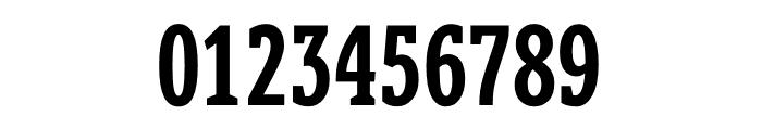 Berlingske Slab Extra condensed Demi Bold Font OTHER CHARS