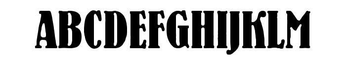 BernhardStd-BoldCondensed Font UPPERCASE