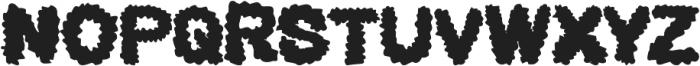 BEARD Rider ttf (400) Font UPPERCASE