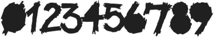 Be Afraid Alternative otf (400) Font OTHER CHARS