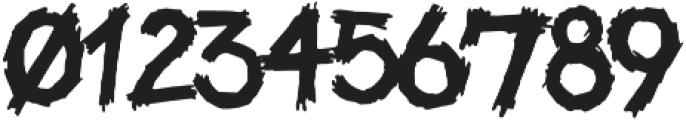 Be Afraid Base otf (400) Font OTHER CHARS