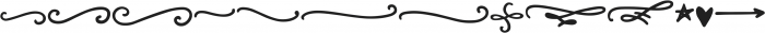 Be Cool Swashes otf (400) Font LOWERCASE