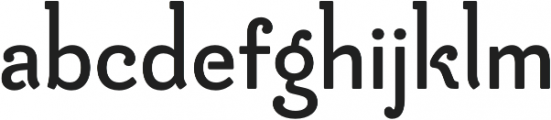 Be Creative otf (800) Font LOWERCASE