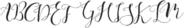 Be Grateful otf (400) Font UPPERCASE