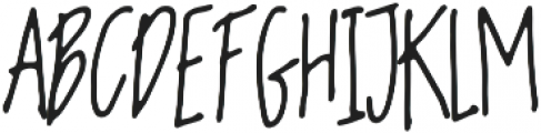 Be with otf (400) Font LOWERCASE