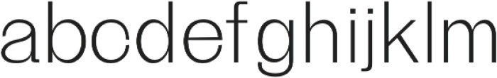 Beacher Light otf (300) Font LOWERCASE