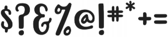Beachwood Sans otf (400) Font OTHER CHARS