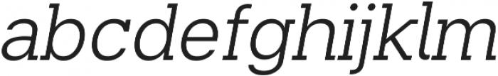 Beaga ttf (300) Font LOWERCASE