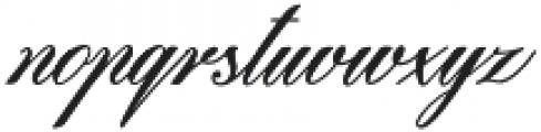 Beaked Tyrant otf (400) Font LOWERCASE
