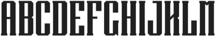 Bear Black otf (900) Font LOWERCASE