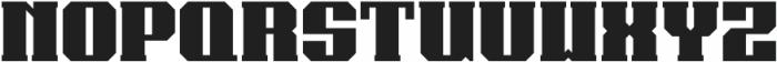 Bear Thin otf (100) Font UPPERCASE