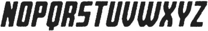Bearbone Edge Oblique otf (400) Font UPPERCASE
