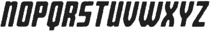 Bearbone Edge Oblique otf (400) Font LOWERCASE