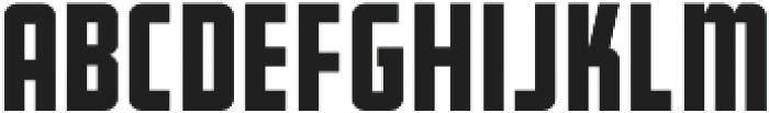 Bearbone Sans Regular otf (400) Font LOWERCASE