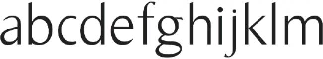 Bearings Light otf (300) Font LOWERCASE