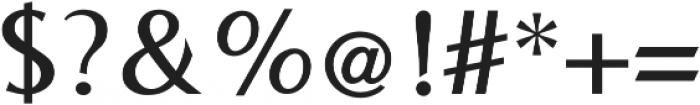 Bearings SemiBold otf (600) Font OTHER CHARS