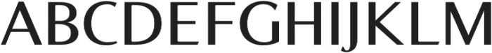 Bearings SemiBold otf (600) Font UPPERCASE