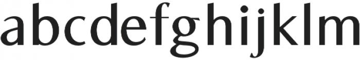 Bearings SemiBold otf (600) Font LOWERCASE