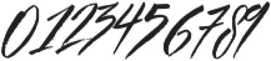 Beastie Regular otf (400) Font OTHER CHARS