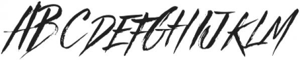 Beastie Regular otf (400) Font UPPERCASE