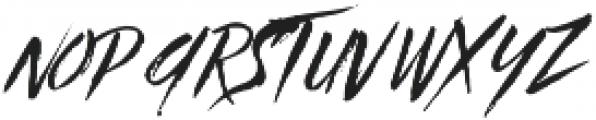 Beastie Regular otf (400) Font LOWERCASE
