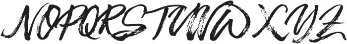 Beastmachine otf (400) Font UPPERCASE