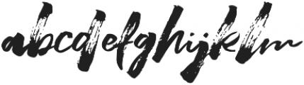 Beastmachine otf (400) Font LOWERCASE
