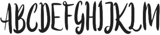 Beasty ttf (400) Font UPPERCASE