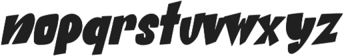 Beat Word Italic otf (400) Font LOWERCASE