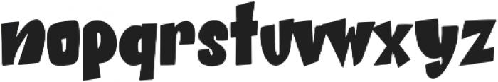 Beat Word otf (400) Font LOWERCASE