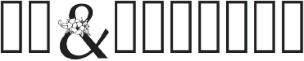 Beatrice Font Regular otf (400) Font OTHER CHARS