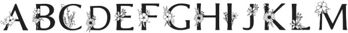 Beatrice Font Regular otf (400) Font LOWERCASE