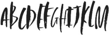 Beatrix Alt ttf (400) Font UPPERCASE