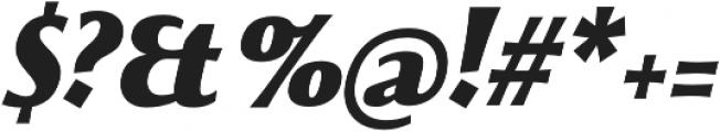 Beatrix Antiqua Black Italic otf (900) Font OTHER CHARS