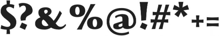 Beatrix Antiqua ExtraBold otf (700) Font OTHER CHARS