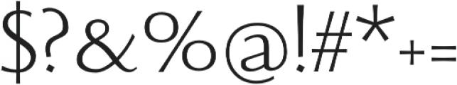 Beatrix Antiqua Light otf (300) Font OTHER CHARS