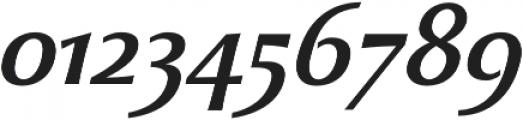 Beatrix Antiqua Medium Italic otf (500) Font OTHER CHARS