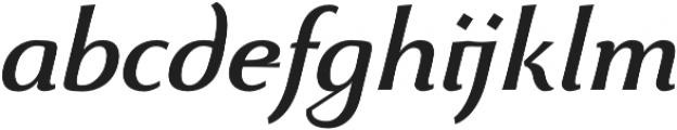 Beatrix Antiqua Medium Italic otf (500) Font LOWERCASE
