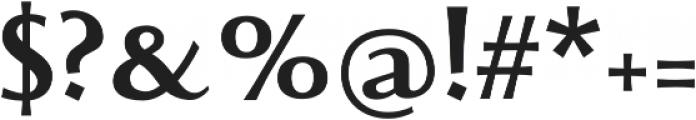 Beatrix Antiqua SemiBold otf (600) Font OTHER CHARS