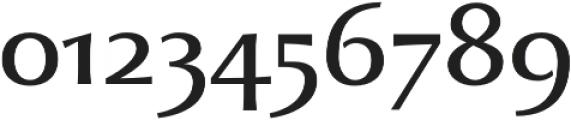 Beatrix Antiqua otf (400) Font OTHER CHARS