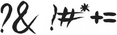Beats otf (400) Font OTHER CHARS