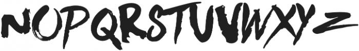 Beats otf (400) Font UPPERCASE
