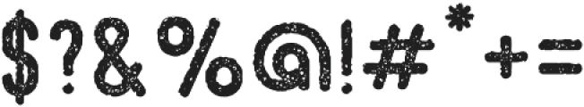 Beatster Grunge otf (400) Font OTHER CHARS