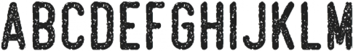 Beatster Grunge otf (400) Font LOWERCASE