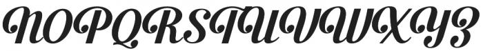 Beauford otf (400) Font UPPERCASE