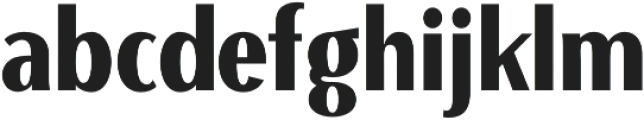 Beaumont Black otf (900) Font LOWERCASE