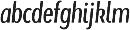 Beaumont Light Italic otf (300) Font LOWERCASE