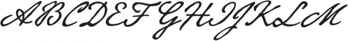Beaurencourt FY otf (400) Font UPPERCASE